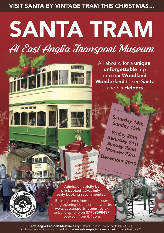 Santa Tram 2019 Poster
