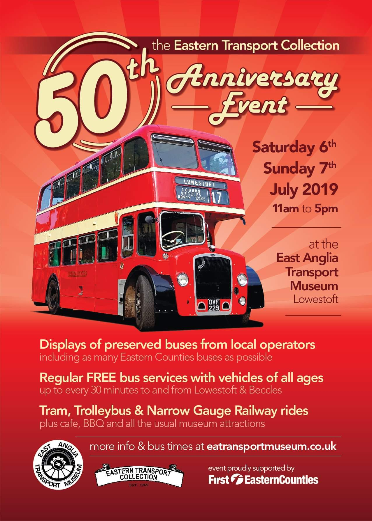 Eastern Transport Collection 50th Anniversary Event