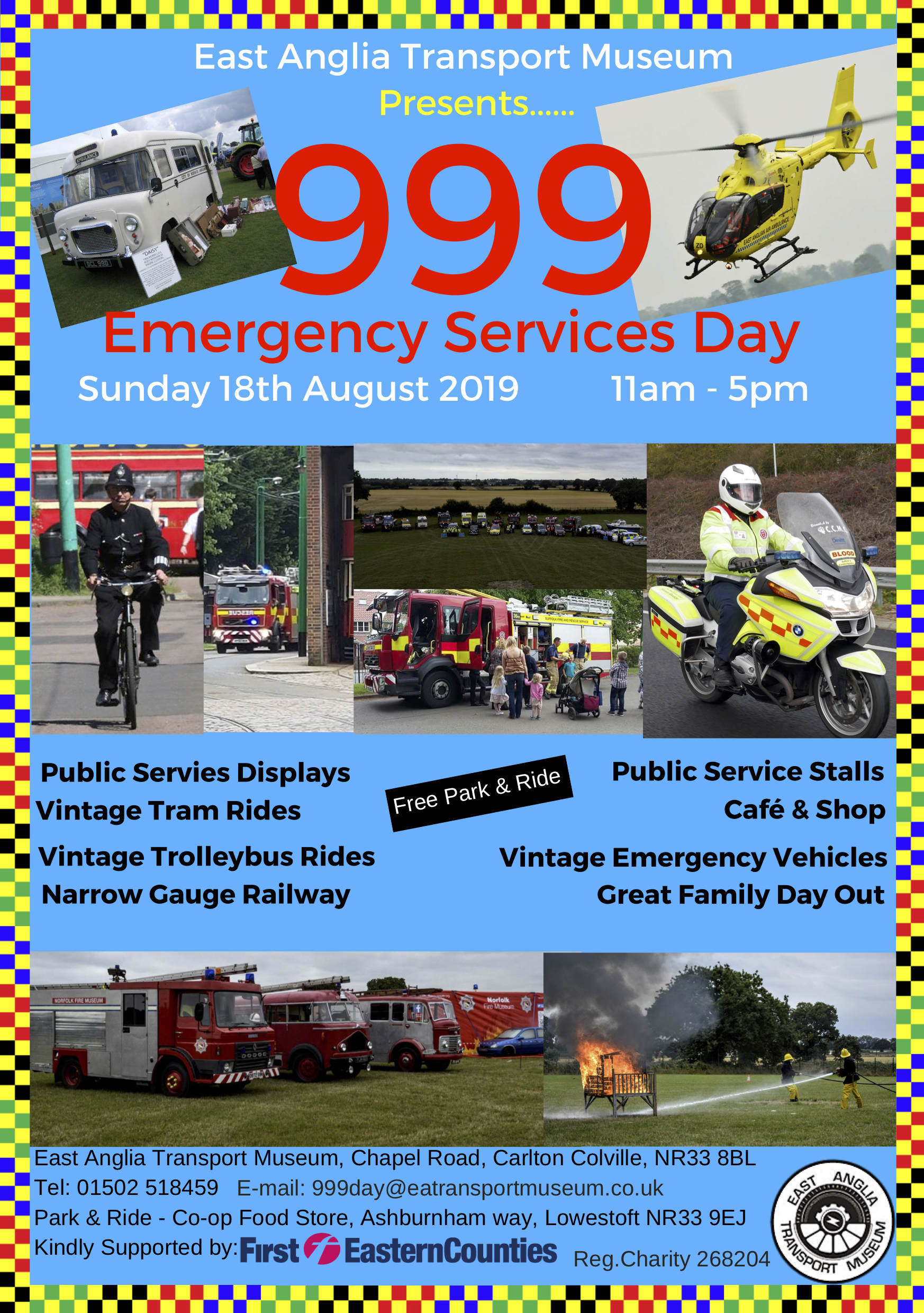 999 Emergency Services Day 2019