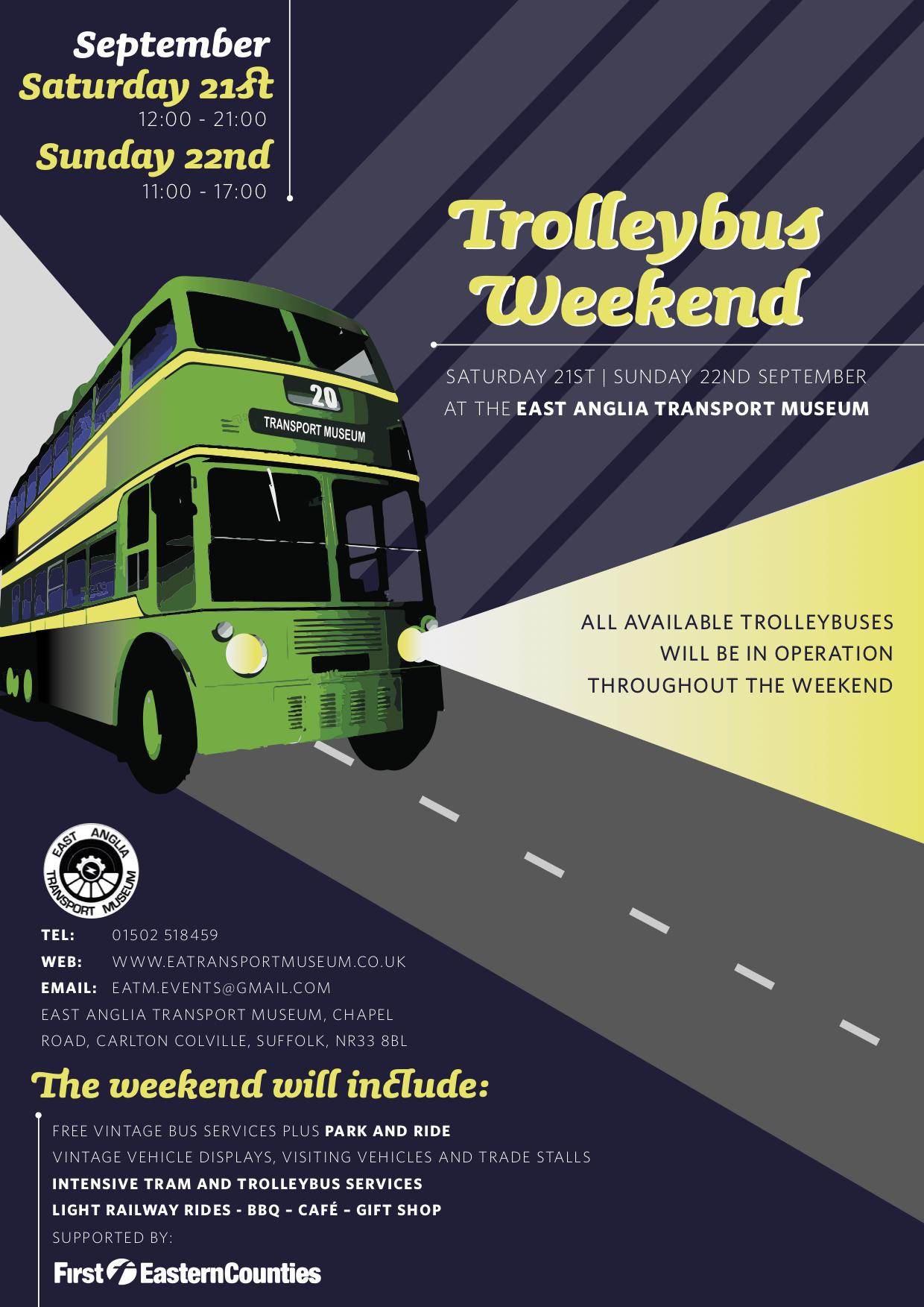 Trolleybus Weekend 2019